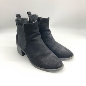 Divided by H&M   black heeled ankle boots